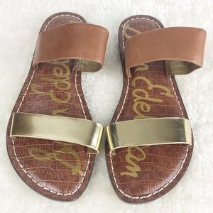 Sam Edelman Krista Leather Slide Sandals